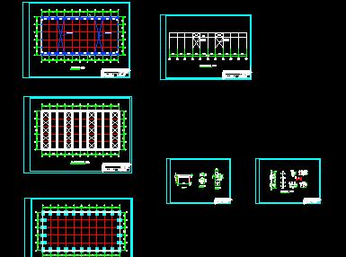 单层厂房结构施工图