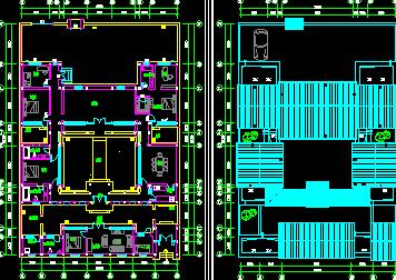 四合院平面设计图