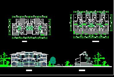 某住宅建筑设计图