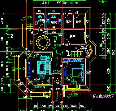 两层小洋楼建筑设计图纸