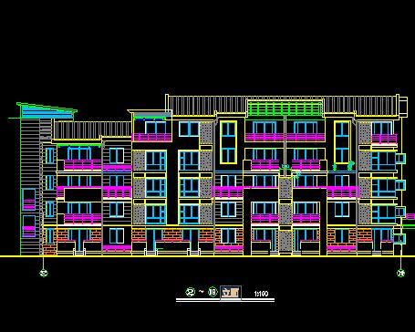 五层住宅设计图