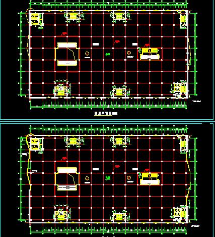 某5层商场平面设计图