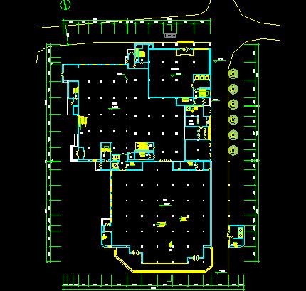 16层商场平面设计图