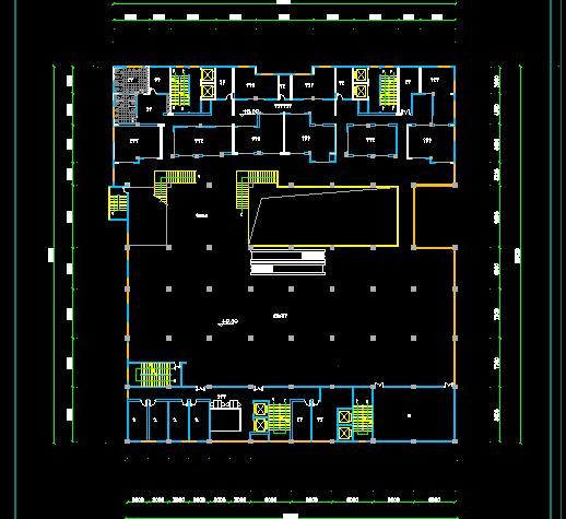 某商场平面设计图