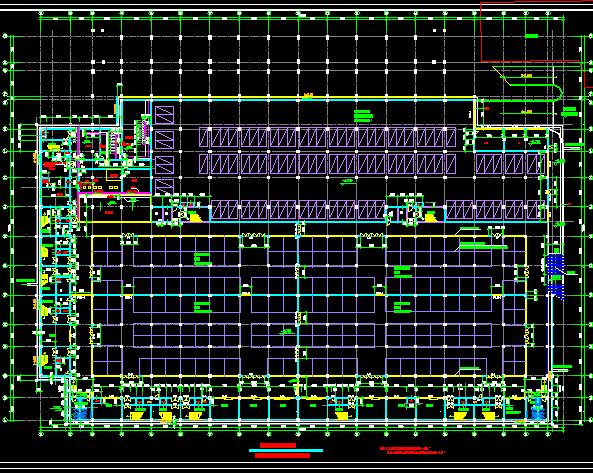 某地下商场平面设计图