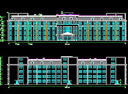 老年公寓建筑设计图纸