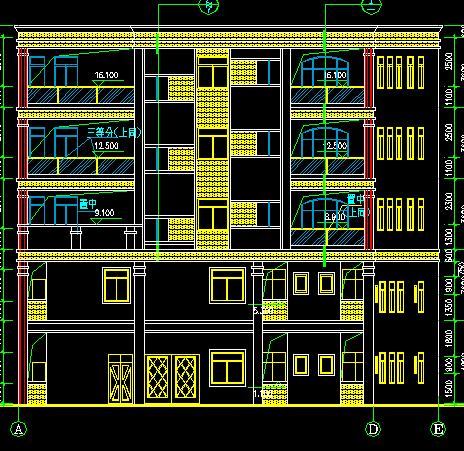 首页 03  建筑设计 03  建筑图纸 03  建筑户型平面图 03