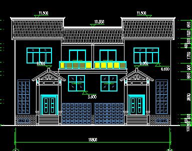 农村住宅建筑设计图纸免费下载 - 建筑户型平面图