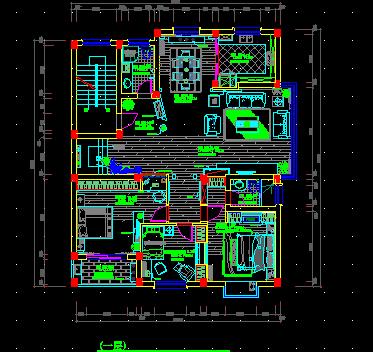 二层别墅户型设计图免费下载 - 建筑户型平面图
