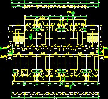 5层钢筋混凝土框架结构宿舍楼建筑设计图纸