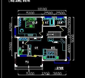 三层别墅户型设计图免费下载 - 建筑户型平面图