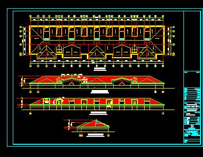 六层住宅建筑设计图纸