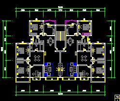 近百套商品房建筑户型平面图