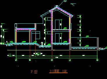 252平方米二层农村别墅设计图纸