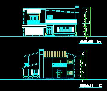 210平方米二层别墅设计图纸