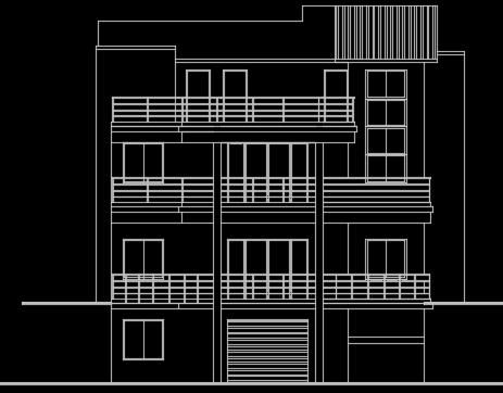 四层农村别墅设计图纸