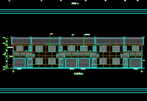 砖混结构商住楼建筑施工图纸