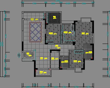 160平米住宅装修优乐娱乐图纸