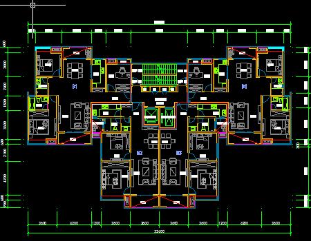 住宅建筑户型图