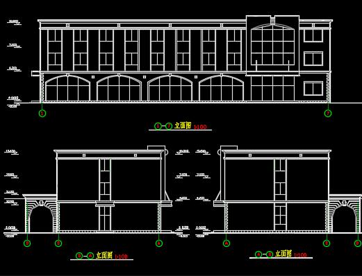 大学生宿舍楼建筑设计图纸