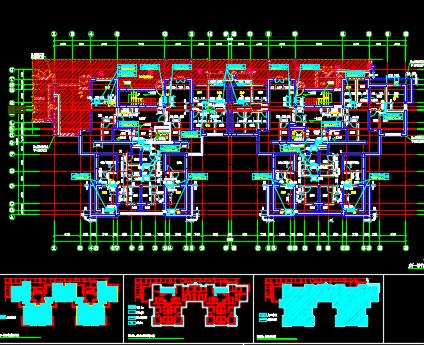 住宅楼建筑平面图