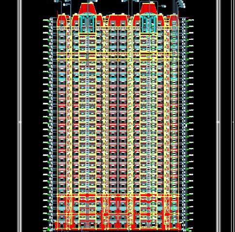 32层住宅楼建筑施工图纸