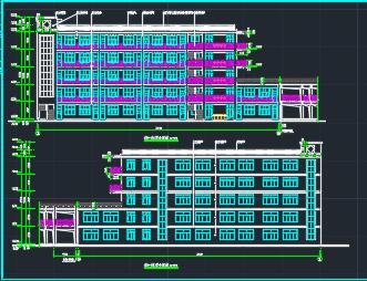 某五层教学楼建筑设计图纸