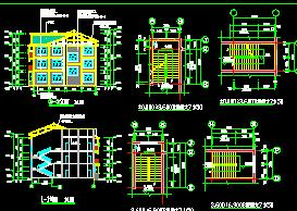 3层框混结构招待所建筑施工图纸