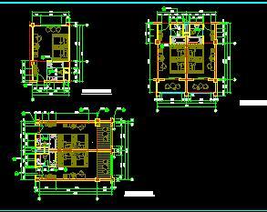 四星级宾馆客房户型平面设计图纸免费下载 建筑户型平面图