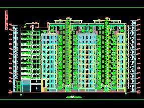 11+1层组合住宅楼香港六合开奖直播施工图纸