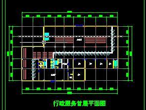 办公楼建筑平面设计图纸