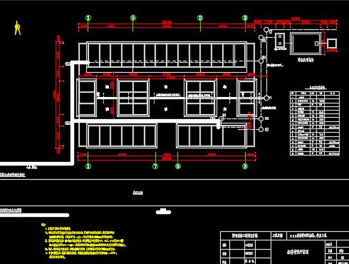 砖砌化粪池土建施工图纸免费下载 - 污水处理图