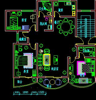 住宅楼建筑设计平面图纸