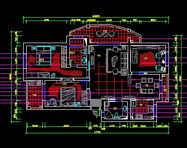 住宅楼户型设计图纸