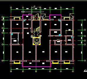 24种带电梯小高层住宅户型设计图纸