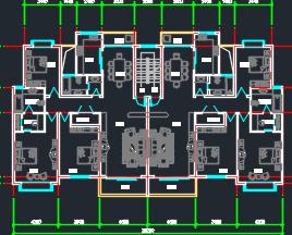 多种住宅户型平面图