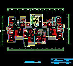235个一梯三户住宅户型平面图合集
