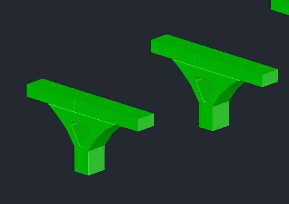 桥梁墩柱模型CAD图