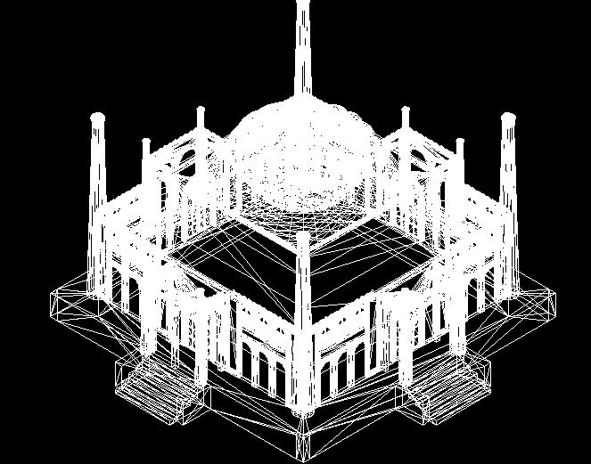 某教堂三维模型