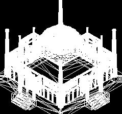 某教堂三维模型图