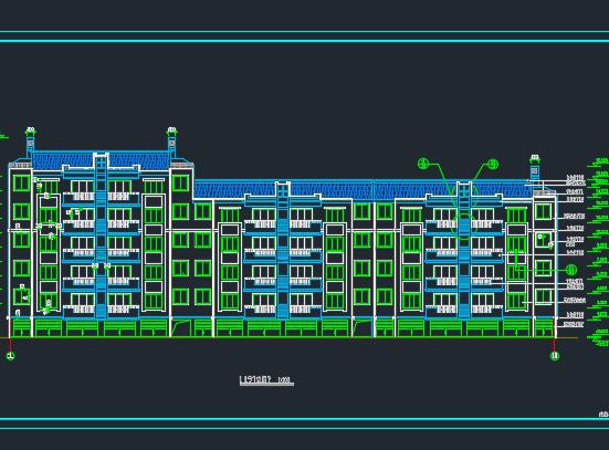 五层住宅楼建筑施工图纸