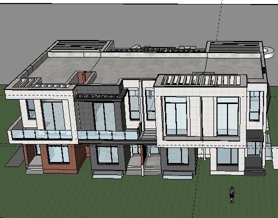 别墅SketchUp模型