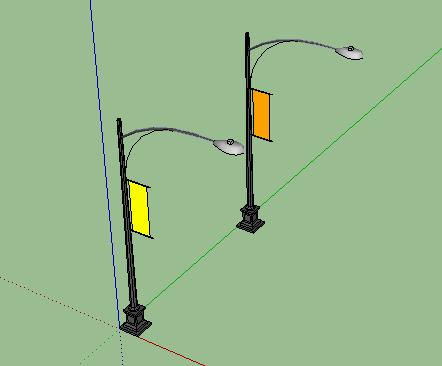SketchUp建筑单品模型图库