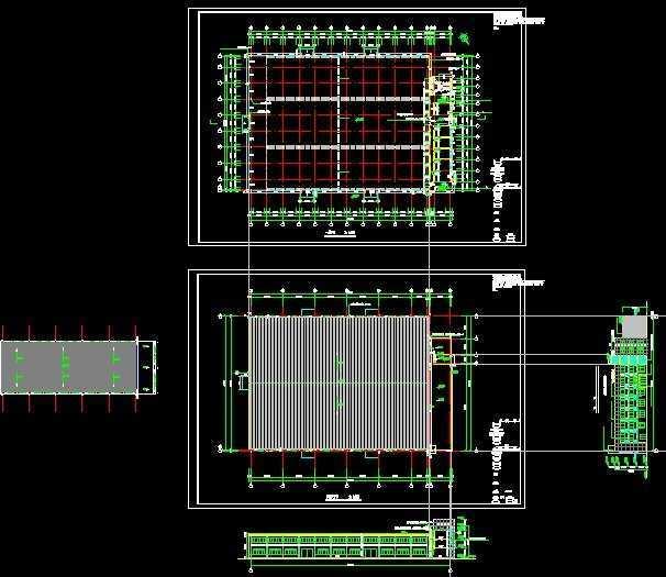 屋顶层平面图免费下载 - 建筑详图,图库 - 土木工程网