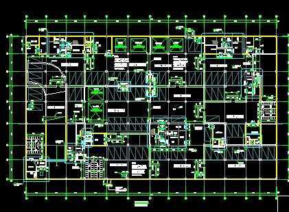 全套地下人防建筑施工图纸