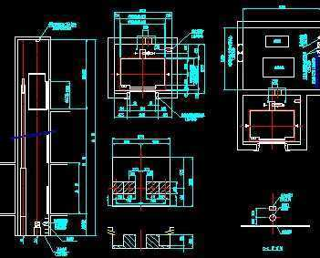 日历可程式控制(plc)液压电梯土建布置图图片