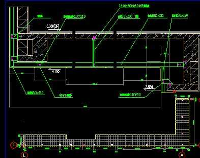 铝塑板吊顶节点图