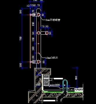 卡巴斯基免费版_露台玻璃栏杆大样图免费下载 - 建筑详图、图库 - 土木工程网