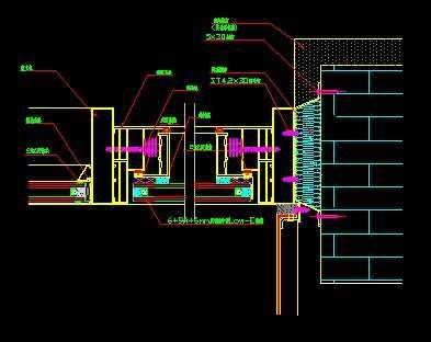 卡巴斯基免费版_铝合金窗下端节点图免费下载 - 建筑详图、图库 - 土木工程网