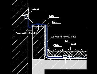倒置式屋面高低跨变形缝防水做法大样图图片